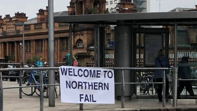 It's grim traveling up North - you can blame under-investment for that
