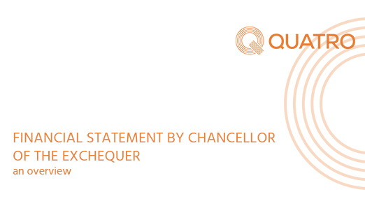 OVERVIEW : FINANCIAL STATEMENT BY CHANCELLOR OF THE EXCHEQUER, WEDNESDAY 8TH JULY 2020